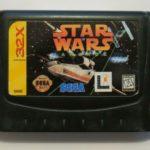 SEGA MEGA DRIVE  32X CARTRIDGE STAR WARS - jeu StarWars