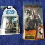 Figurine StarWars : 2 figurines Collection YODA ( Star Wars ) et KRATOS ( God of War ), NEUFS !!!!