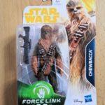 StarWars collection : STAR WARS the last jedi figurine star wars Chewbacca Force Link neuf