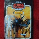 StarWars collection : STAR WARS VINTAGE COLLECTION - CLONE TROOPER LIEUTENANT PHASE 1 VC109 UNPUNCHED