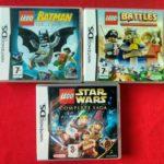 LEGO DS BUNDLE - ( BATMAN - BATTLES - STAR - Occasion StarWars