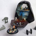 StarWars collection : MICRO MACHINES STAR WARS - DARK VADOR / BESPIN + 5 véhicules + 9 personnages