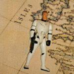 Figurine StarWars : Figurine Hasbro STAR WARS LUKE SKYWALKER Vintage DEATH STAR ESCAPE EXCLUSIF RARE