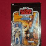 StarWars figurine : STAR WARS VINTAGE COLLECTION - OBI WAN KENOBI CLONE WARS VC103 UNPUNCHED CARD