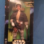 """StarWars figurine : 1997 Kenner Star Wars Action Collection - Han Solo in Hoth Gear 12"""" Figure Boxed"""