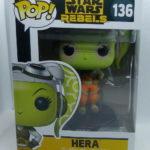 StarWars collection : Figurine Hera de Star Wars Rebels n°136  par Funko, en vinyle
