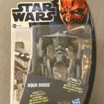 StarWars figurine : Figurine AQUA DROID / Star Wars / The Clone Wars