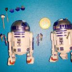 Figurine StarWars : 2x R2-D2 STAR WARS Black Series 40th Anniversary Mecano droid 6'' action figure