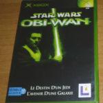 Jeu XBOX - Star wars obi wan Le destin d'un - jeu StarWars