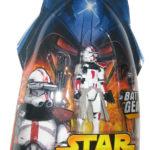 StarWars figurine : Star Wars Épisode III Revenge Of The Sith Rouge Clone Commandant Figurine #33