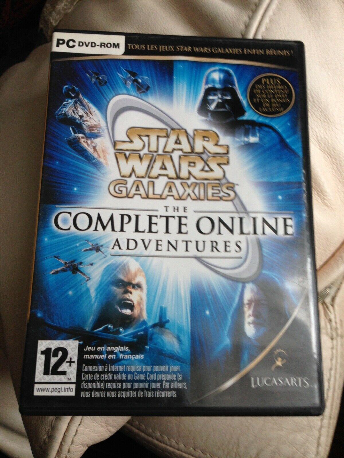 Star Wars Galaxies The Complete Online - Avis StarWars