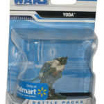StarWars figurine : Star Wars Yoda Bataille Paquets Unleashed Figurine - (Wal-Mart Exclusif)