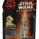StarWars collection : Star Wars Épisode I Bataille Droid Commtech (1998) Version B Action Figurine