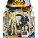 StarWars figurine : Star Wars Mission Séries Luke Skywalker & Han Solo Hoth Gear Figurine Set