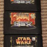 3 Sega 32X Games Virtua Fighter Doom Star - jeu StarWars