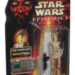 StarWars collection : Star Wars Épisode I OOM-9 Jumelles en Main Hasbro Commtech Action Figurine