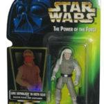 Figurine StarWars : Star Wars Pouvoir de la Force Vert Carte Luke Skywalker Hoth Gear Figurine
