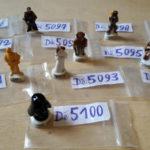 StarWars figurine : star wars figurine fève  à l'unité au choix