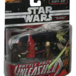 Figurine StarWars : Star Wars Unleashed Bataille Paquets Jedi Masters Figurine Set - (Ordre Sixty