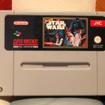 STAR WARS - SUPER NINTENDO GAME - CARTRIDGE - jeu StarWars