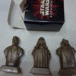 Figurine StarWars : boite 3 figurines STAR WARS épisode 1 BOSS NASS DARTH MAUL DARTH SIDIOUS NEUVES
