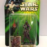 StarWars figurine : Star Wars Attaque des Clones Sneak Aperçu Zam Wesell Figurine Hasbro 2001