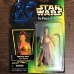 StarWars collection : Star Wars Princess Leia Organa as Jabba's Prisoner The Power of the Force 1997