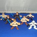 StarWars collection : 7 Star Wars Galactic Heroes Figurines Lot en Vrac Star Wars LP