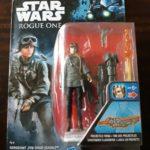 StarWars collection : Star Wars Rogue One Figurine Sergeant Jyn Erso (EADU) NEUF Disney Hasbro