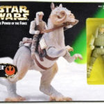 StarWars collection : STAR WARS The Power of the Force LUKE SKYWALKER & TAUNTAUN Action Figures.