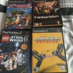 Sony PlayStation 2 PS2 games bundle Star Wars - pas cher StarWars