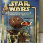 Figurine StarWars : Yoda Jedi Master #23 Star Wars Attaque Clones 84615 2002 Figurine Articulée