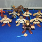 StarWars collection : 9 Star Wars Galactic Heroes Figurines Lot #1 en Vrac Star Wars Kp