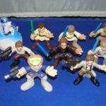 StarWars figurine : 9 Star Wars Galactic Heroes Figurines Lot #3 en Vrac Star Wars Kp