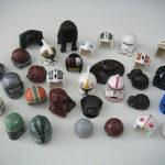 Figurine StarWars : Lego Star Wars Casques coiffes figurine Minifig Hair Headgear to choose NEUF NEW