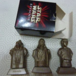 StarWars figurine : boite 3 figurines STAR WARS épisode 1 BOSS NASS QUI GON JINN ANAKIN SKYWALKER