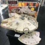 StarWars collection : MILLENNIUM FALCON COMPLETE vintage Star Wars PALITOY Original BOXED