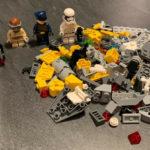 StarWars figurine : Lot Lego 5 Figurines Personnages Star Wars Pour Vaisseaux Et Pièces En Vrac
