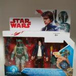StarWars collection : STAR WARS figurine HAN SOLO & BOBA FETT star wars lucas film Disney