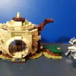 Figurine StarWars : Lot Lego Star Wars _ hutte de Yoda + 1 Microfighter ! pas de figurines ni notice