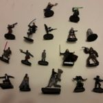 StarWars collection : Lot de 20 figurines RARE et VERY RARE  Star Wars Miniatures