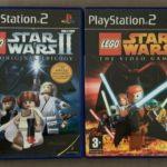 LEGO STAR WARS  1 & 2 ps2 pal version Inc - jeu StarWars