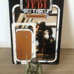 StarWars figurine : Figurine STAR WARS COMMANDO REBELLE + CARDBACK ROTJ  MECCANO 1983 ORIGINAL !