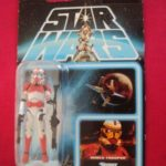 StarWars collection : STAR WARS VINTAGE COLLECTION (VC110) - CLONE SHOCK TROOPER LIEUTENANT EP303 CARD