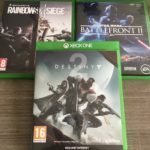LOT 3 JEUX X BOX ONE « STAR WARS BATTLEFRONT - pas cher StarWars