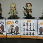 StarWars collection : STAR WARS 4 Figurines Mystery Mini QI'RA TOBIAS BECKETT LANDO CALRISSIAN HAN