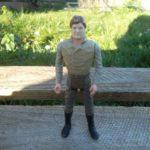 StarWars figurine : Han Solo Carbonite / Star Wars vintage Kenner Potf loose Figure Last 17 figurine