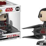 Figurine StarWars : Funko- Star Wars-E8 TLJ-Tie Fighter avec Kylo Ren Figurine, 20154,...