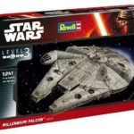 StarWars figurine : Star Wars 7 VII Figurine Millennium Falcon Easykit Easy Model Kit 1/241 Fusée
