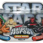 StarWars collection : Star Wars Galactic Heroes Obi-Wan Kenobi et Darth Maul Hasbro Figurine Set